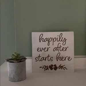 Other - Happily ever after sign